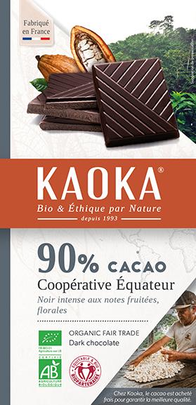 cacao-90-chocolat-pure-pate-bio-equitable-kaoka