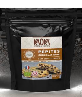 Pépites de chocolat noir bio equitable kaoka