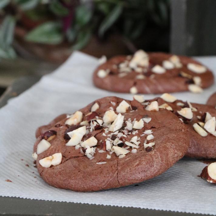 Biscuits Meringués Chocolat à l'Aquafaba [vegan]