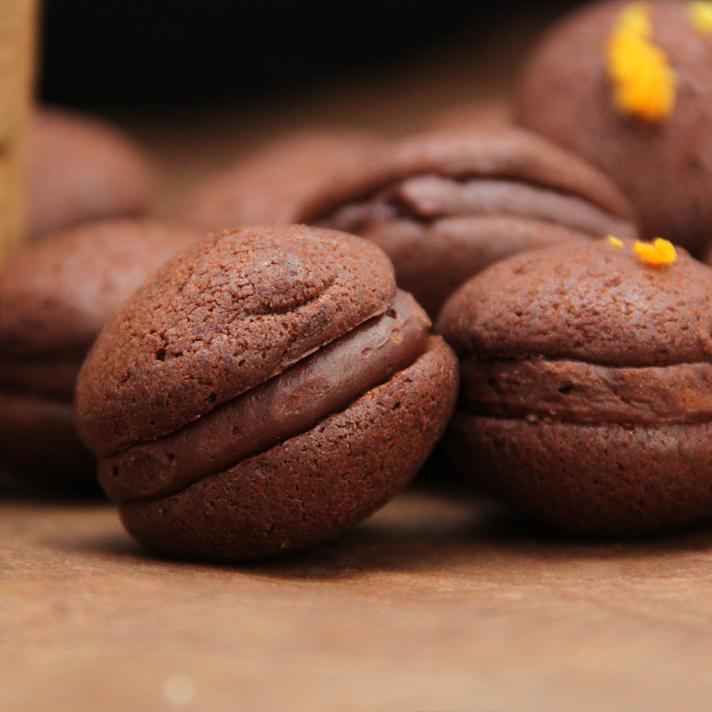 Whoopies Chocolat & Orange